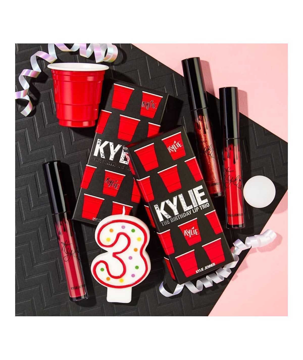 Kylie Cosmetics Birthday Lip Trio