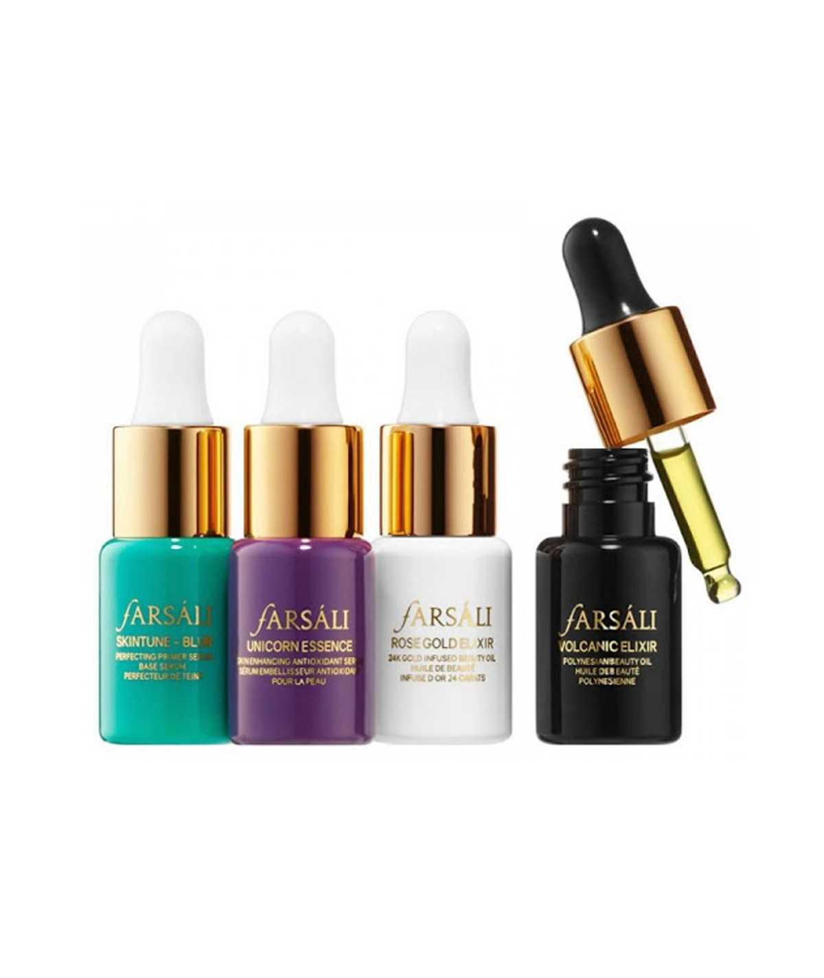 Farsali Skin Goals - A set of four