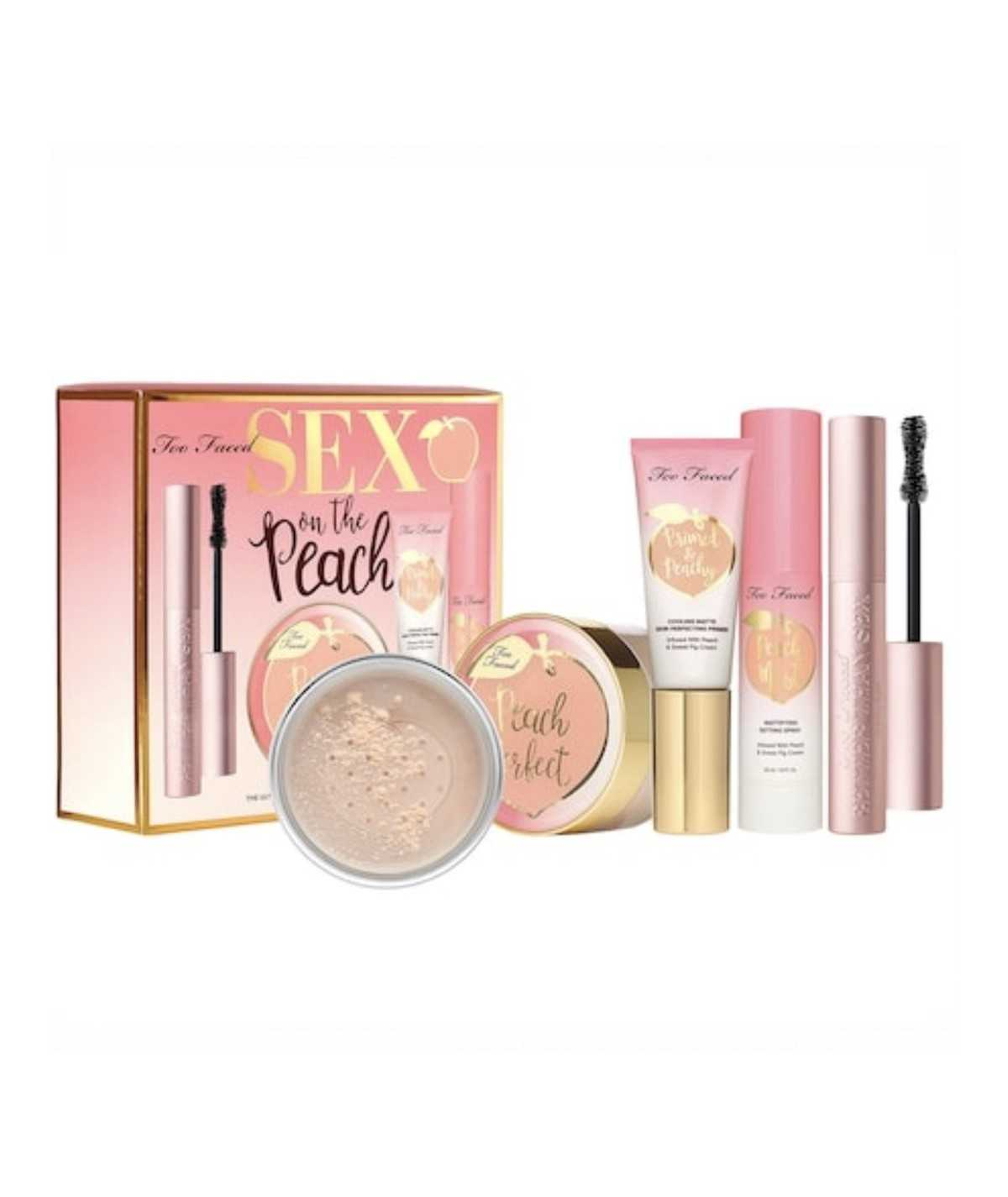 Too Faced S*x On The Peach Complexion Set