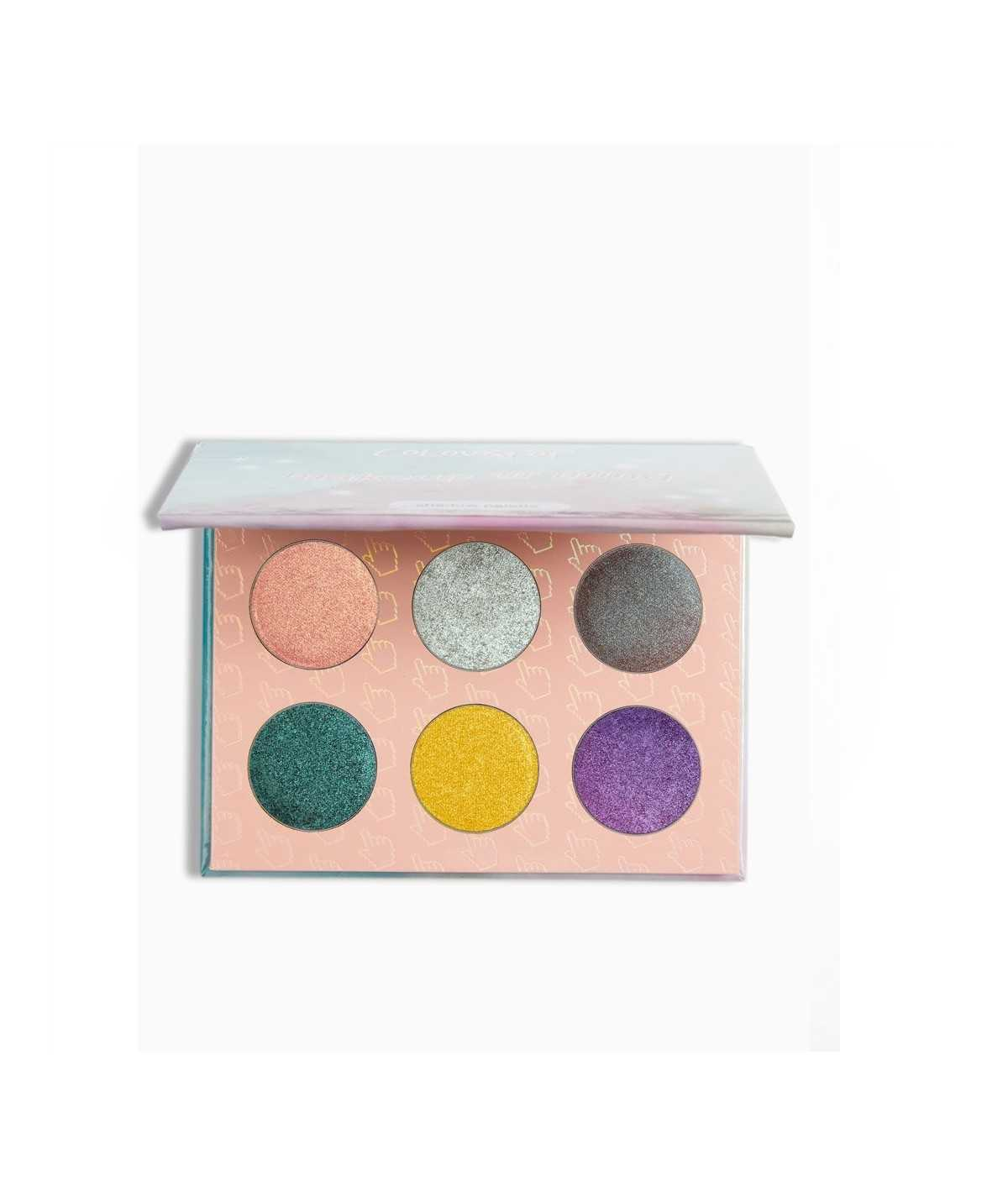 Colourpop eyeshadow palette Makeup Ur Mind