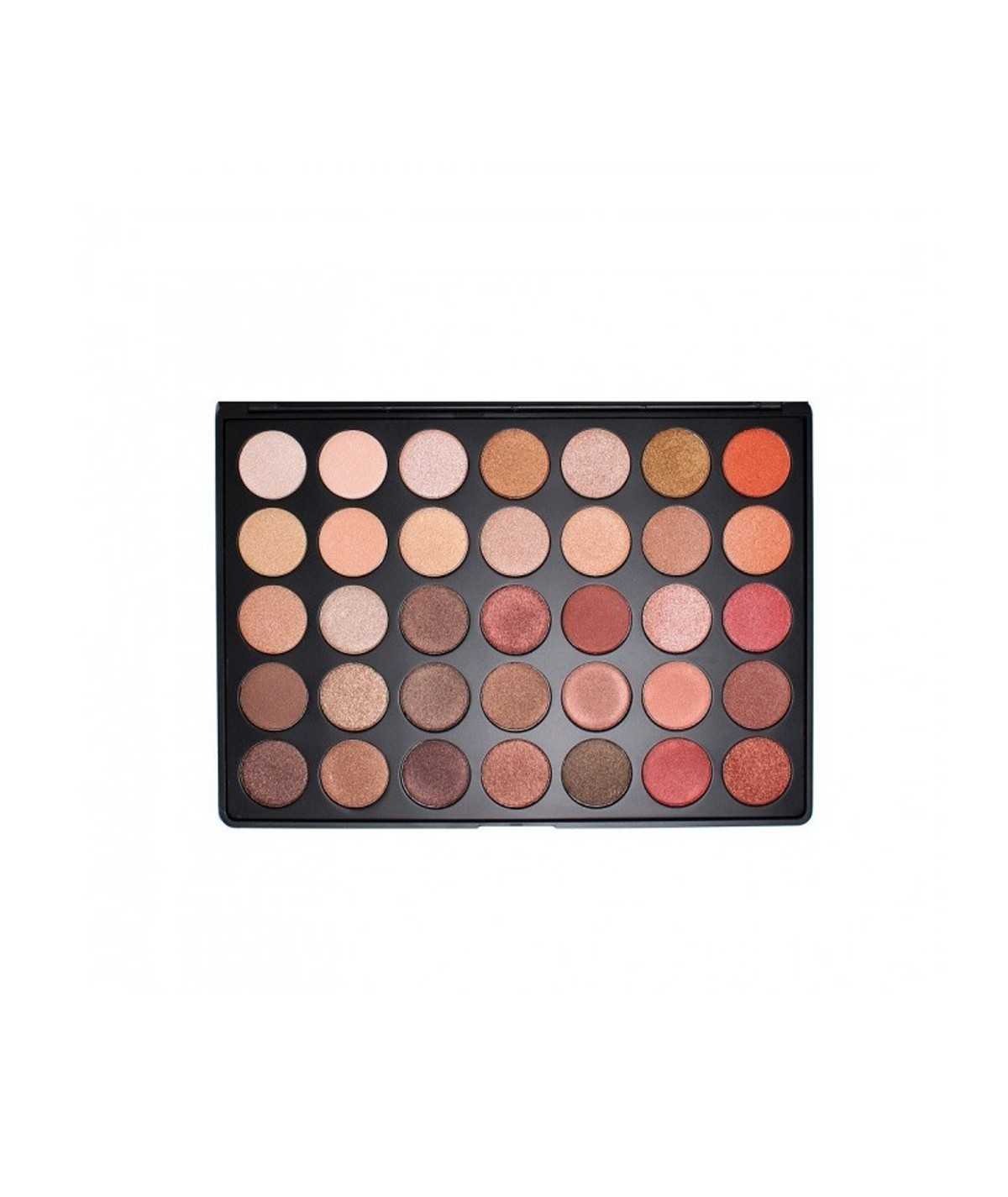 Morphe 35OS - Shimmer Nature Glow Eyeshadow Palette