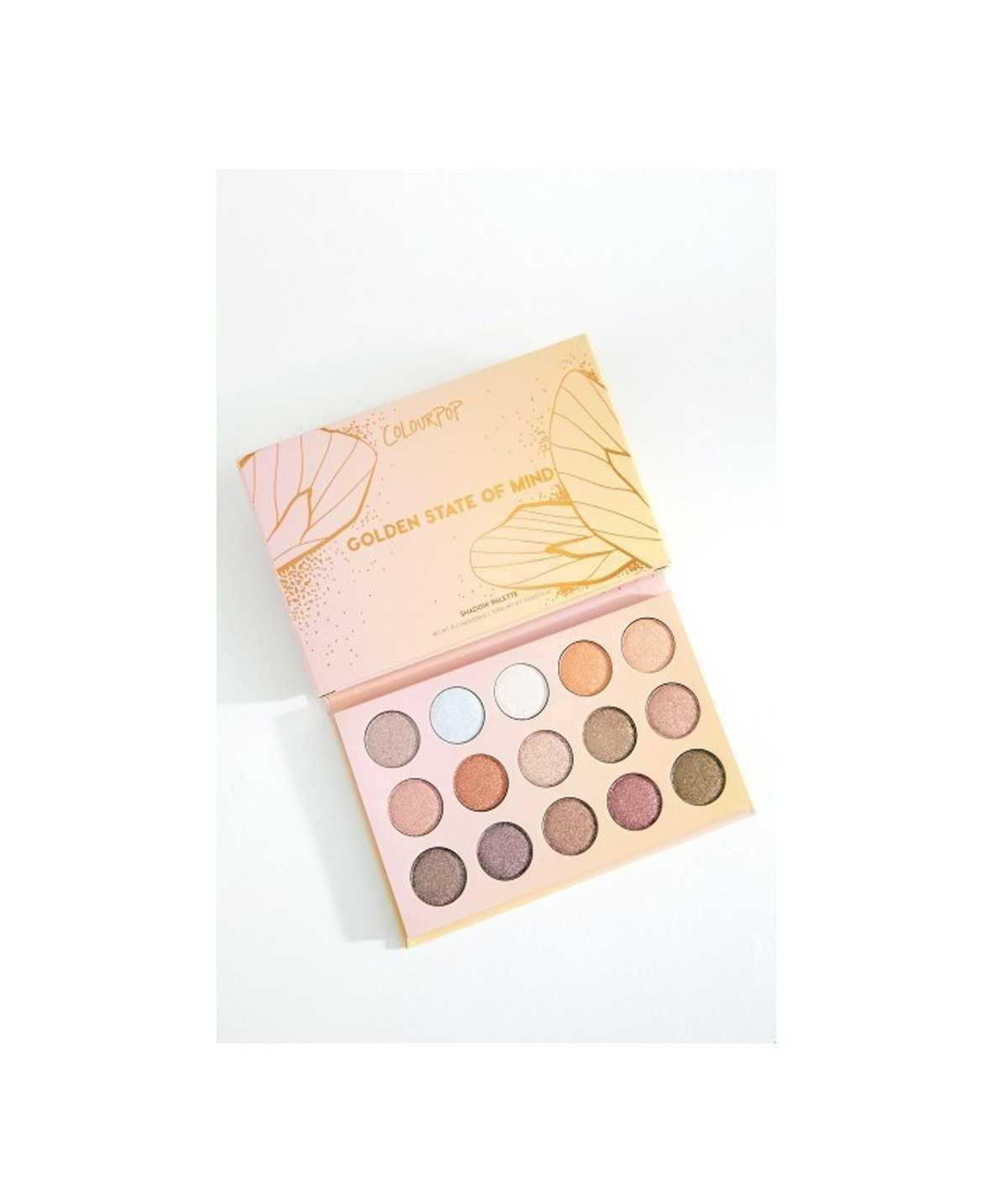 ColourPop Eyeshadow Palette - Golden State of Mind