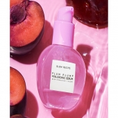 Glow RecipePlum Plump Hyaluronic SerumPlump your skin by filling each skin layer with intense, juicy hydration with the Plum Plump Hyaluronic Serum.Its silky, watergel texture is infused with juicy plum and 5 molecular weights of next-gen hyaluronic acid that fill each skin layer with hydration for visibly plumper skin.Combined with vegan collagen and vegan silk protein, this lightweight, oil-free serum deeply hydrates dry, dehydrated skin and diminishes the appearance of visible fine lines for healthy, bouncy, youthful skin.Now available with us at www.beautyholicuae.com