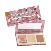 """Benefit Cosmetics""""If you can't see my highlighter from space, I'm not wearing enough."""" -UnknownBenefit Cheekleaders Mini Bronze Squad is the perfect way to show your team spirit & get sunkissed with this mini face palette.Features an exclusive sneak peek of NEW Cookie golden pearl super-silky powder highlighter, iconic Hoola matte bronzer and Gold Rush golden-nectar blush.Now available with us at www.beautyholicuae.com"""